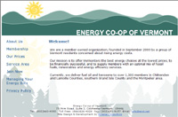 ECVT Homepage designed by Athena Consulting Burlington Vermont